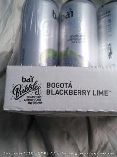 Bai Bubble Bogota Blackberry Lime