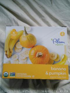 Plum Organics Banana & Pumpkin Squeaze Pouches
