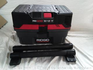 ProPack Wet/Dry Vacuum (online $119)