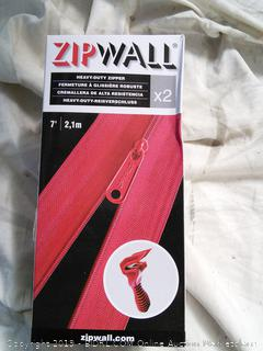 ZipWall 2-Pack Heavy-Duty Zipper for Dust Barriers (online $18.99)