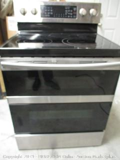 Samsung Electric Stove (Powers On, Read Description)