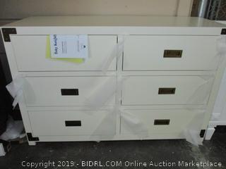 Baby Knightly 6 Drawer Dresser