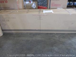 Bed Frame w/ Storage Footboard
