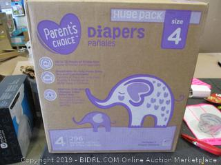 Parent's Choice Diapers Size 4