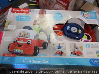 Fisher Price 3-in-1 Smart Car
