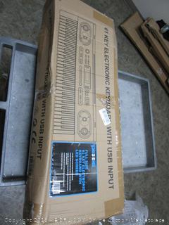 Full Size 61 Key Electronic Keyboard (Sealed) (Damaged Box)