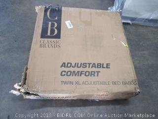 Adjustable Comfort Bed Frame Size Twin XL