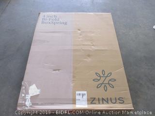 4 in. Bi-Fold Box Springs Size Full