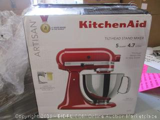 Kitchen Aid Tilt-Head Stand Mixer (Tested, Works Great)