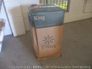 "Zinus king size ultimate comfort memory foam 12"" mattress"