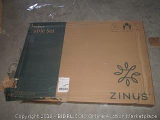 Zinus soho table set - wood, espresso
