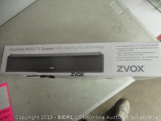 AccuVoice TV Speaker