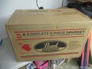 Pearl Drum Set- Incomplete