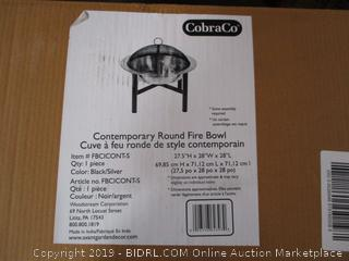 Round Fire Bowl