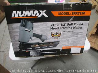 "21"" 3- 1/2"" Full Round Head Framing Nailer"