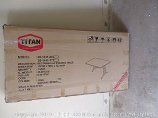 Rectangular Folding Table