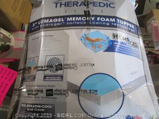 Memory Foam Topper