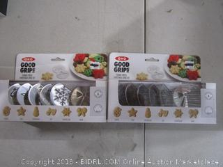 Cookie Press Christmas Disk Sets