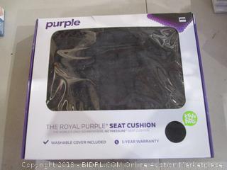 The Royal Purple Seat Cushion