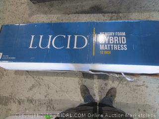 Lucid Memory Foam Hybrid Mattress Cal King