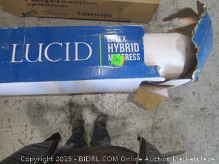 Lucid Latex Hybrid Mattress Cal King