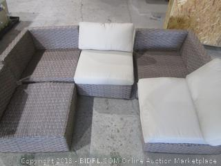Outdoor Furniture Missing Cushion/ damage see Pictures
