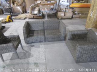 Outdoor Furniture  Damaged See Pictures