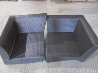 Outdoor Seating No Cushion/ damaged