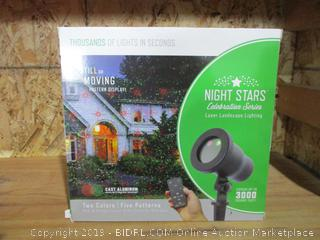 Night Stars Celebration Series Laser Landscape Lighting
