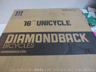 """Diamond 16"""" Unicycle"""