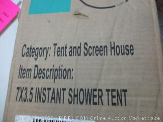 Tent and Screen House