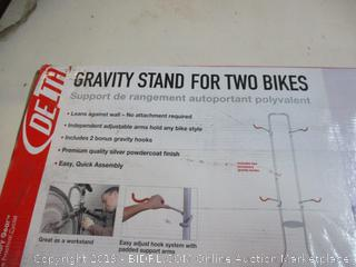 Gravity Stand for two bikes