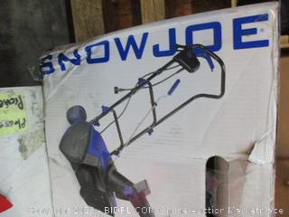 Sunjoe Snow thrower