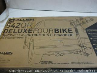 Allen Deluxe Four Bike Quick Release Hitch Mounted Carrier