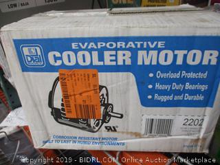 Evaporative Cooler Motor 1/3 HP