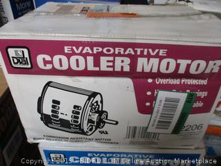 Evaporative Cooler Motor 3/4 HP
