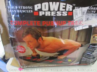 POWER PRESS PUSHUP TRAINING SYSTEM