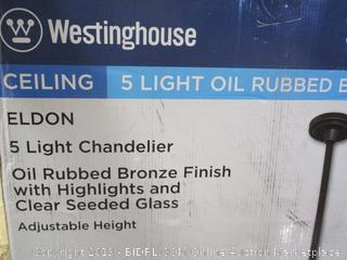 WESTINGHOUSE LIGHT CHANDELIER