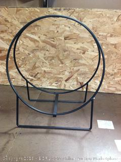 "20"" Tubular Steel Log Hoop (Online $35.99)"