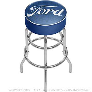 Trademark Game Room Ford Padded Swivel Bar Stool (Online $92.26)