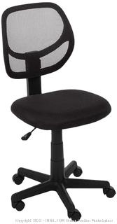AmazonBasics Low-Back Computer Task/Desk Chair with Swivel Casters - Black(Online $51.99)