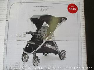 CHICCO 2-PASSENGER QUICK FOLD STROLLER