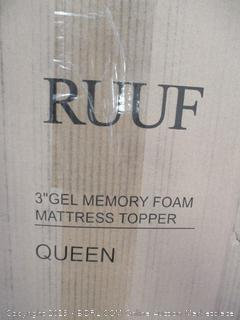 RUUF MEMORY FOAM QUEEN MATTRESS TOPPER
