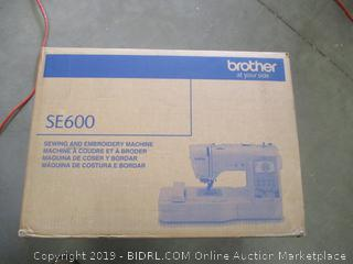 BROTHER SEWING & EMBROIDERY MACHINE (POWERS ON)
