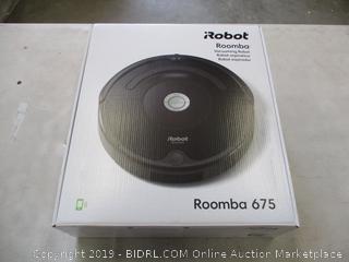 iROBOT ROOMBA 675 (POWERS ON)