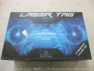 DYNASTY TOYS LASER TAG (POWERS ON)