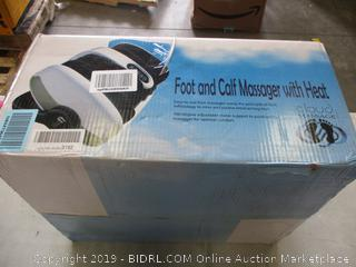 FOOT & CALF MASSAGER (POWERS ON)