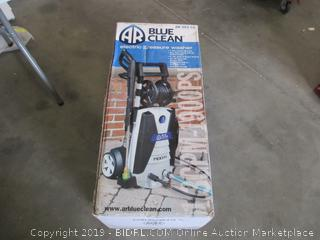 BLUE CLEAN ELECTRIC PRESSURE WASHER (POWERS ON)