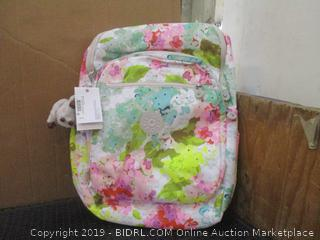Kipling Laptop Protection Bag Luscious Floral White MSRP $124.00