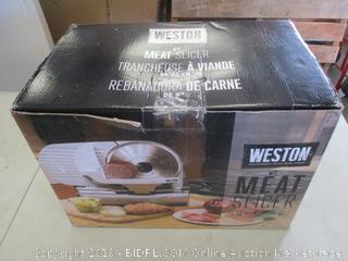 WESTON MEAT SLICER